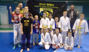Medale Octagon Team Junior na turnieju BJJ