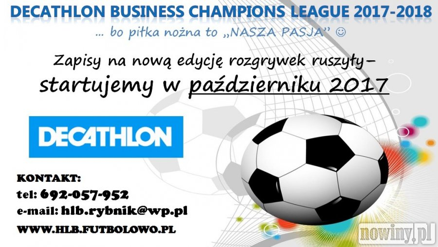 Ruszyły zapisy do III edycji DECATHLON Business Champions League
